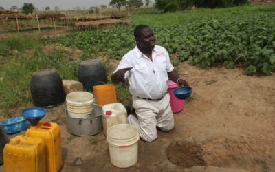 Environmental Governance – In some part of North Central Nigeria, communities get Water for domestic use and drinking through this means.